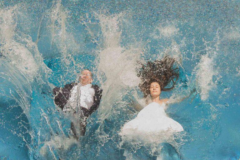 destination beach wedding bride in grand cayman