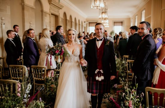 pnina tornai bride in scotland wedding