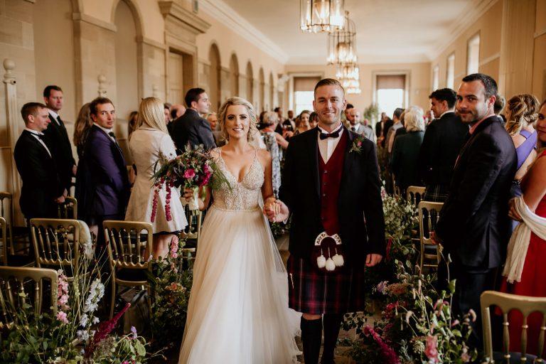 pnina tornai bride in scotland wedding