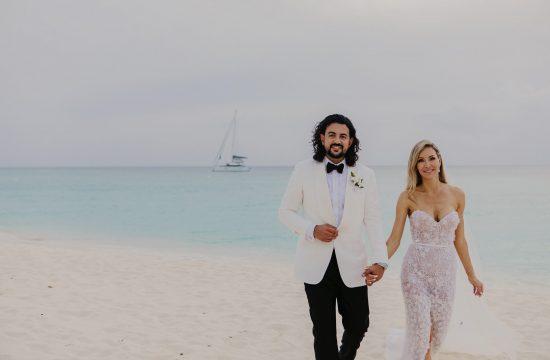 seven mile beach destination wedding in cayman islands