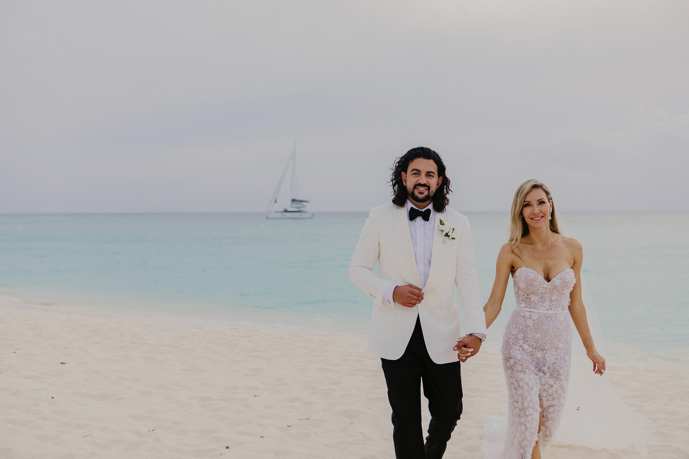 seven mile beach destination wedding in cayman islands