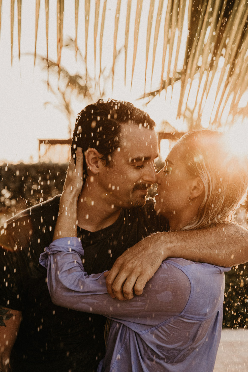 grand cayman engagement photo