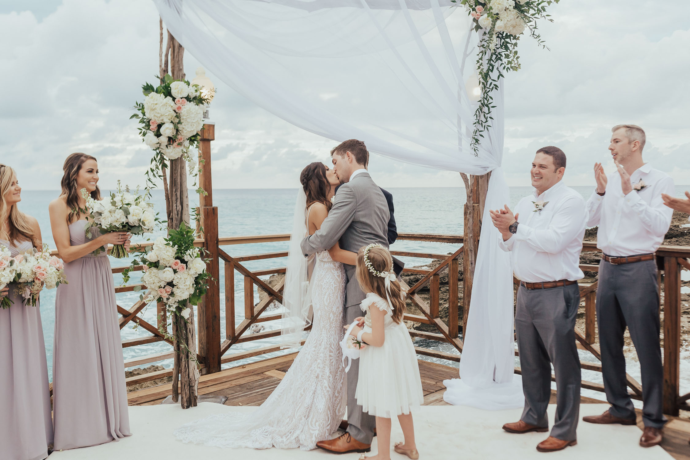cayman islands boho wedding