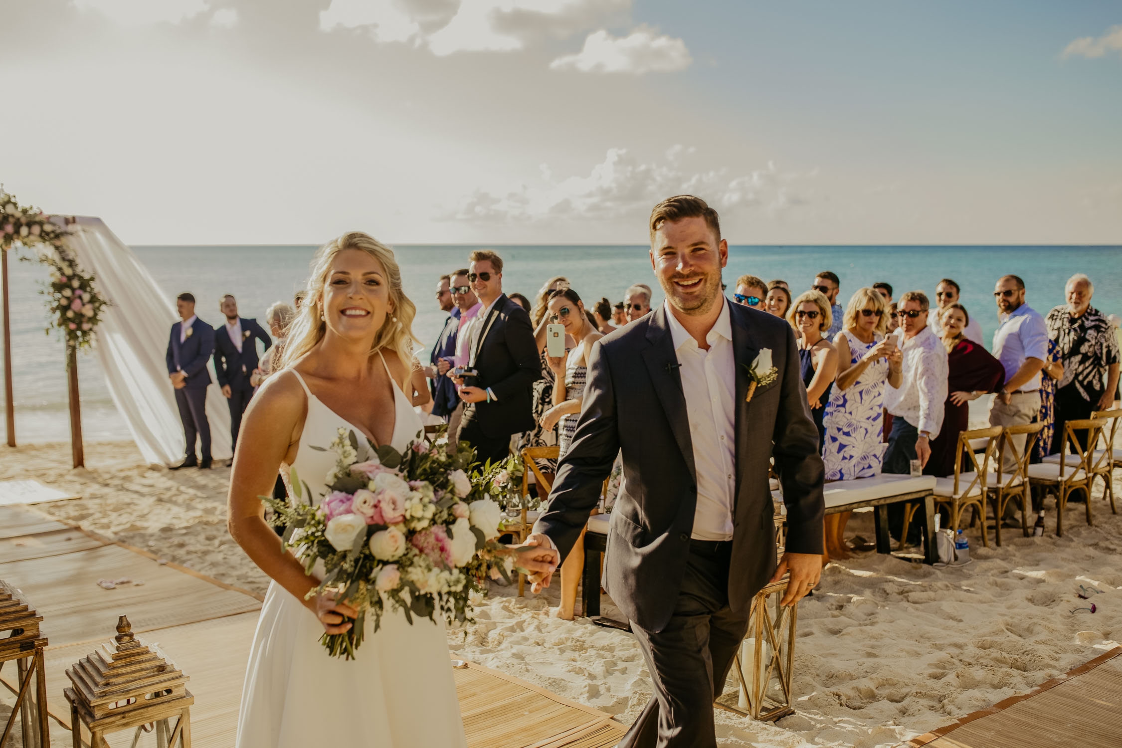 cayman islands destination beach wedding