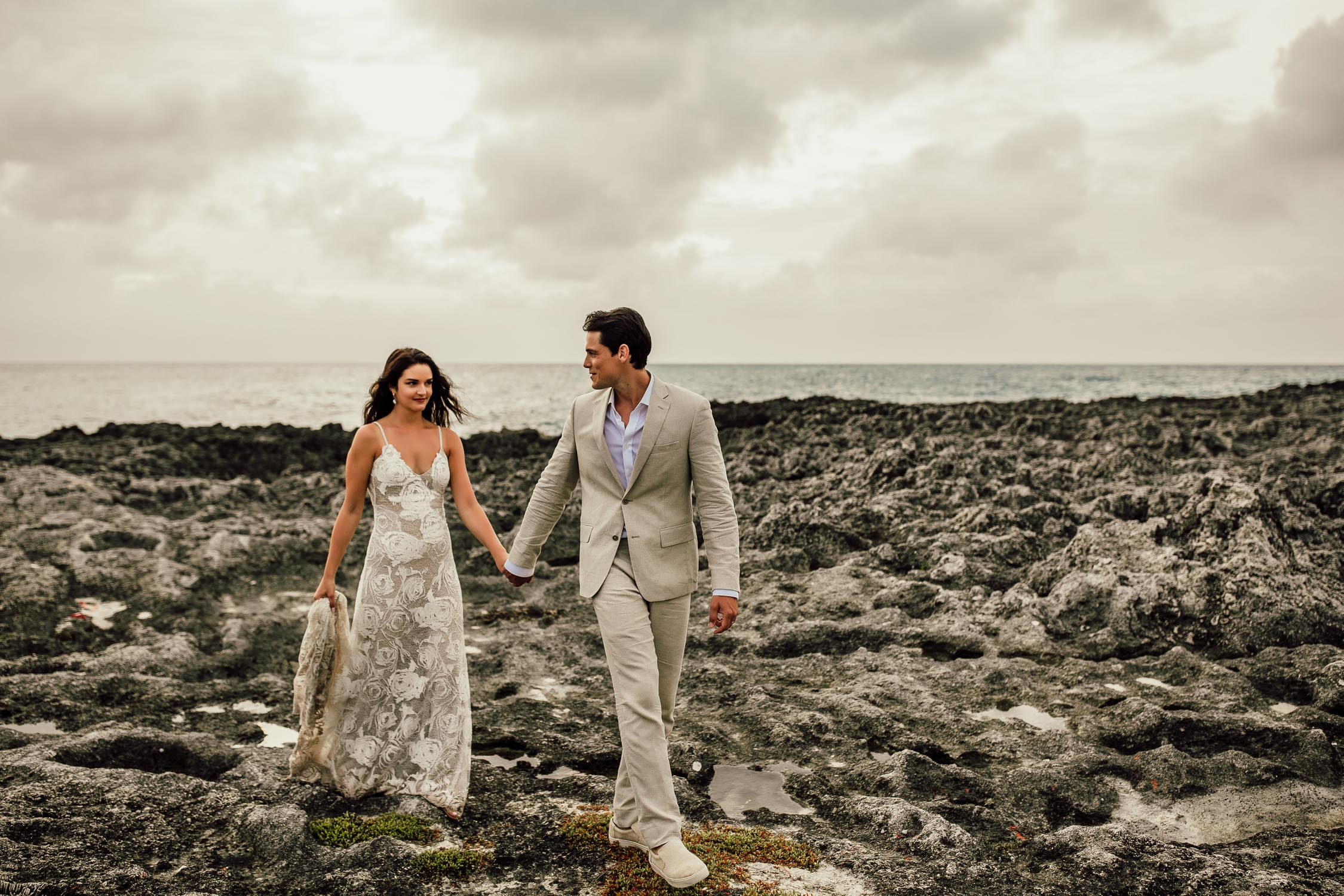 grand cayman destination wedding photo