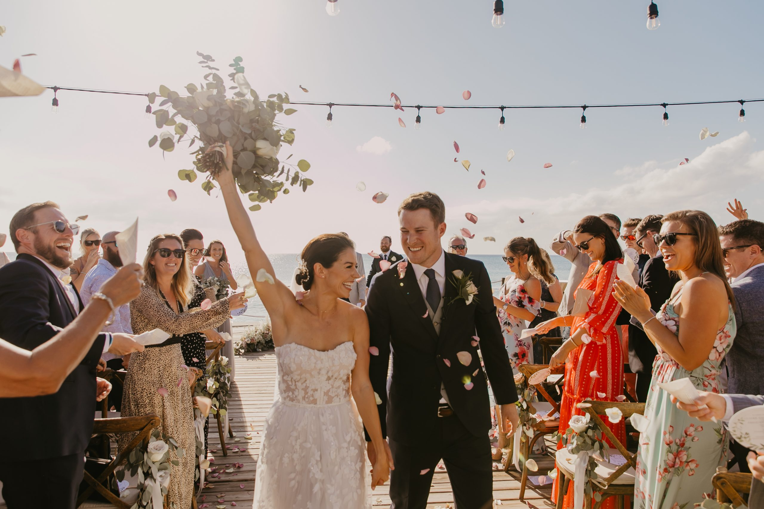 grand cayman wedding photo