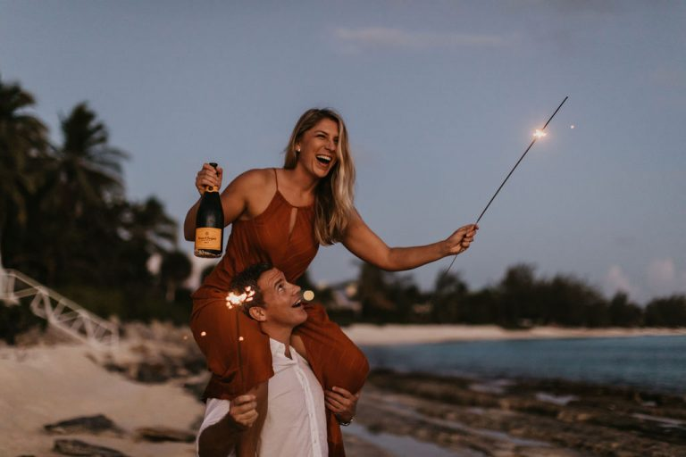 Grand Cayman Engagement Photo