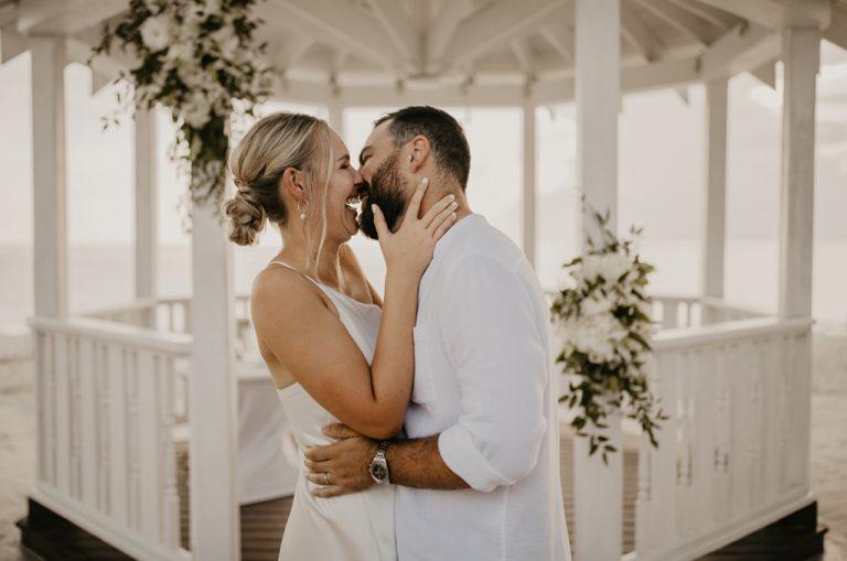 westin grand cayman wedding photo